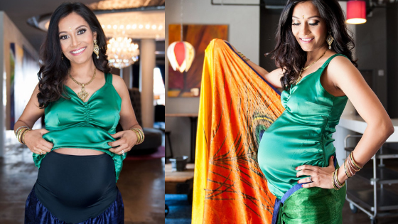 Maternity Saree & Blouse forPregnancy & Post Pregnancy Review