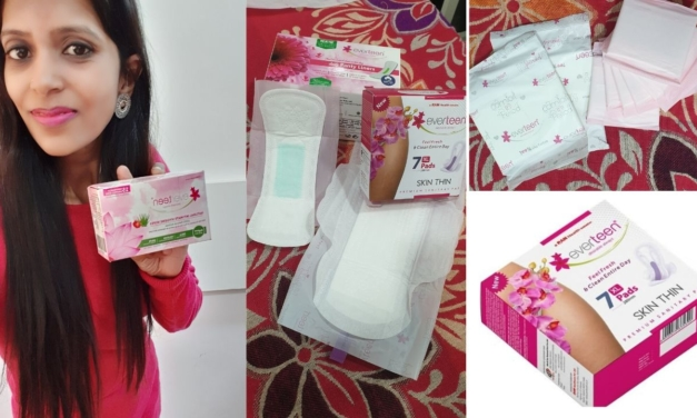 Everteen Sanitary Pads Review for Post Pregnancy Use