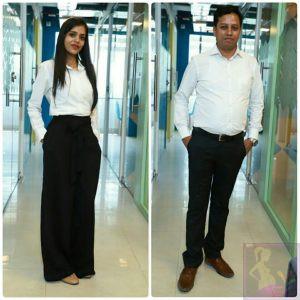 Shweta Sharma and Vijay Sharma