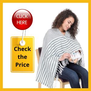Lula Mom Breast Feeding Shawl for Post Pregnancy Breast Feeding Shawl