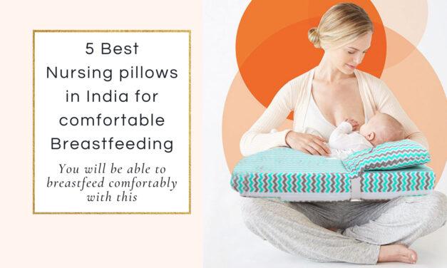 5 Best Nursing Pillow For Breastfeeding In India 2021