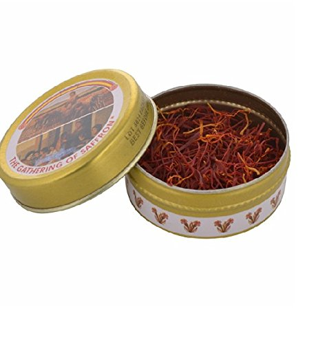 The Gathering of Saffron Spanish Imported Pure Kesar (1 gm)
